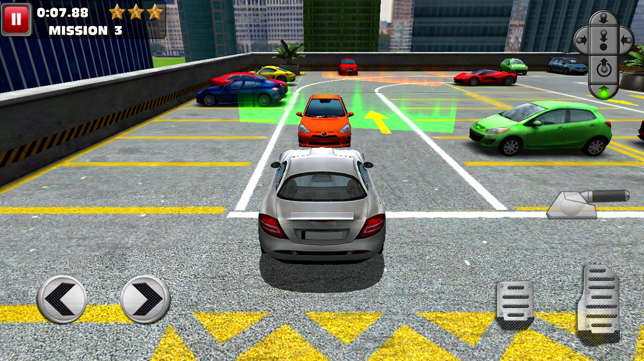 Multi Level 2 Car Parking Simulator Game