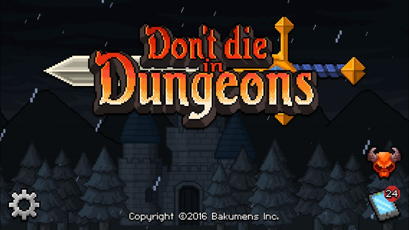 Don't die in dungeons