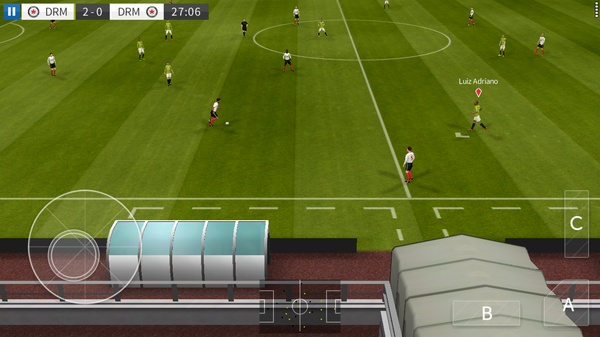Dream League Soccer 2016マルチプレイ1
