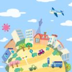 街づくりゲームアプリ
