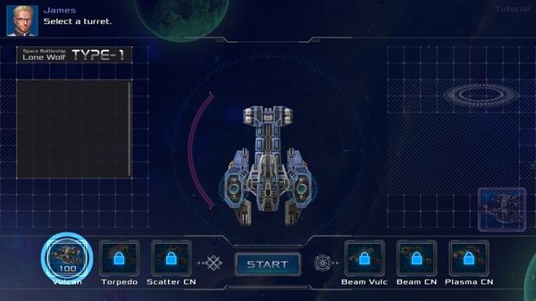 戦艦ロンウルフ2
