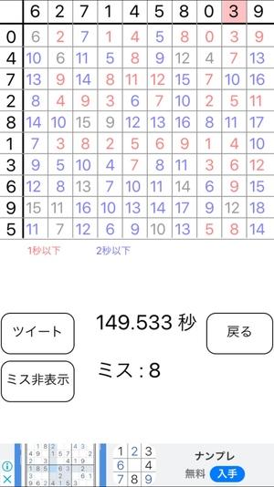 100マス計算4