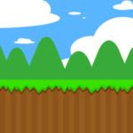 横スクロールアクションゲームアプリ
