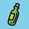 メッセージボトルアプリ