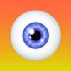 目の色を変えるアプリ