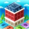 街づくりパズルゲームアプリ