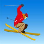 スキーゲームアプリ