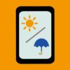 天気ウィジェットアプリ