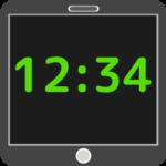 大きい時計アプリ