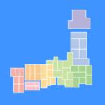 日本地図パズルアプリ