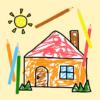 子供向け塗り絵アプリ