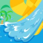 ウォータースライダーゲームアプリ