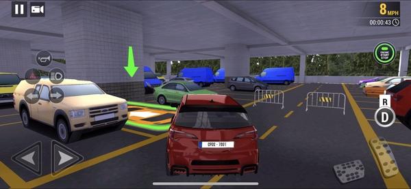 駐車場 - 運転校9